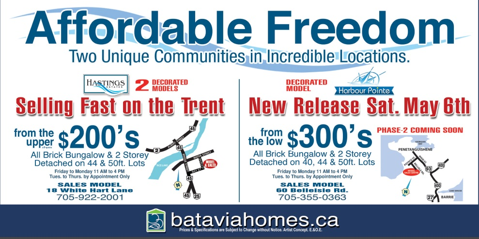 Batavia Homes - Affordable Living @ 2 Locations